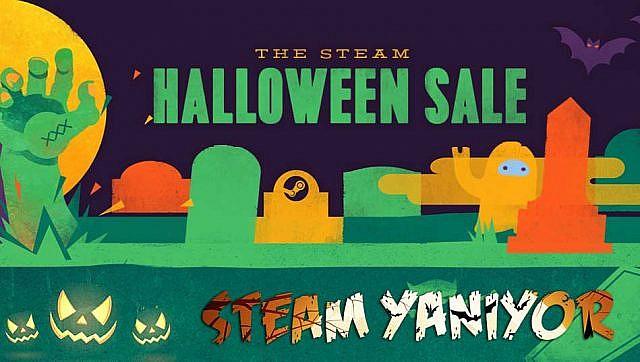 Steam'ın Cadılar Bayramı İçin İndirime Giren Oyunları
