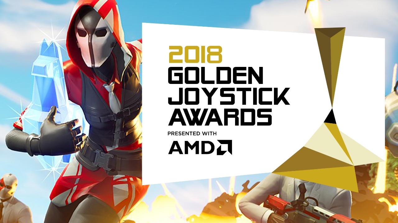 Fortnite, Golden Joystick Ödüllerinde Yılın Oyunu Seçildi
