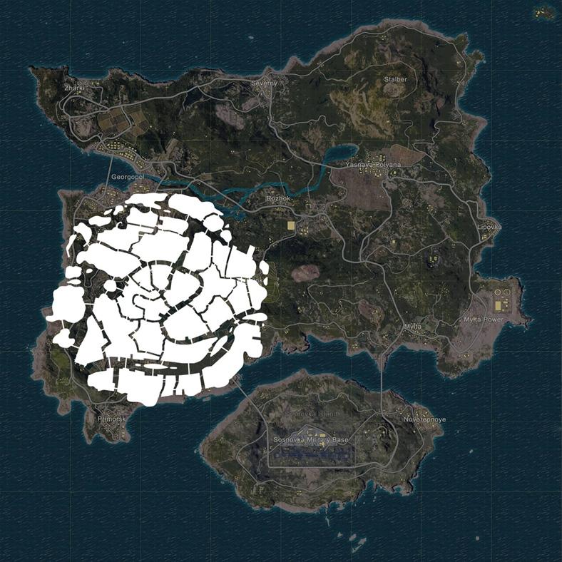 PUBG'nin Yeni Konsept Venedik Haritasının Görüntüleri