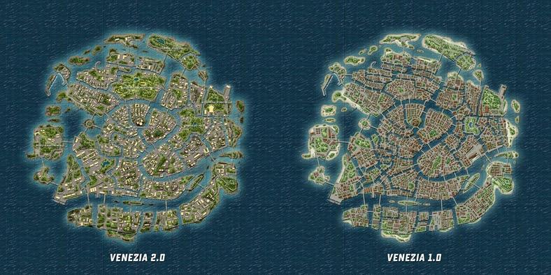 Yeni Venezia Haritası Hakkında Detaylara Gelin Bakalım