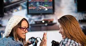 Araştırmaya Göre, Kız Çocuklarının %85'i Video Oyun Oynuyor