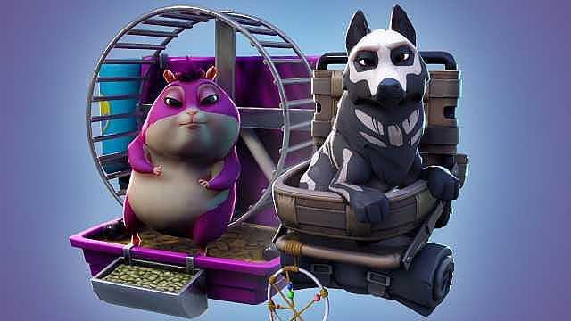 Fortnite 7 Sezon Notları: İki Sevimli Evcil Hayvan Eklendi