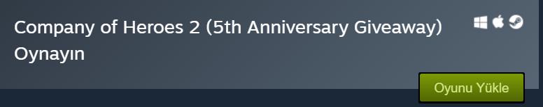 Steam'de 31 TL Değrenideki Oyun Ücretsiz Oldu