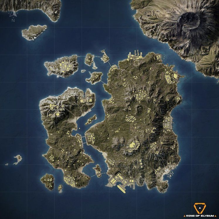 Battle Royal Oyunu Ring of Elysium'a Yeni Harita Geliyor