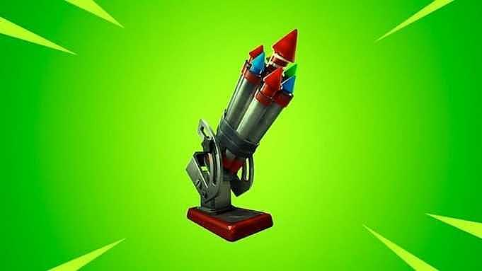 """Fortnite'a """"Şişe Roketi"""" Adında Yeni Silah Eklendi"""