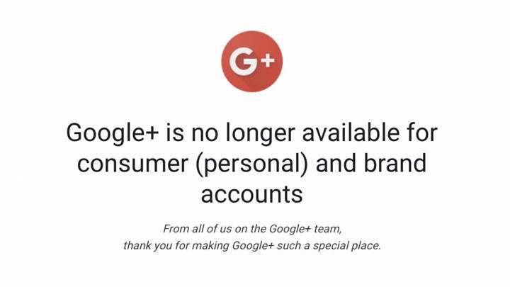 """Google'ın Sosyal Ağı """"Google Plus"""" Devri Bitti!"""