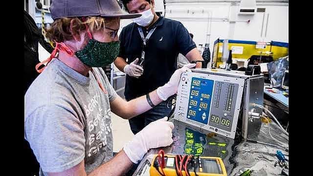 NASA'dan Coronavirus Tedavisinde Kullanılacak Solunum Cihazı